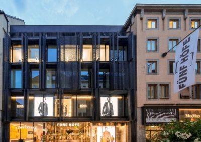CityQuartier Fünf Höfe, München