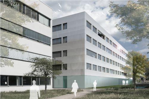 Neubau Forschungsgebäude CETRAMED F3 in Jena