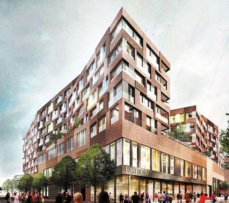 Überseequartier Hamburg – Baufeld B, Neubau Wohnen